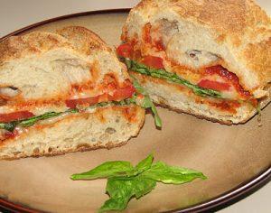 Vegetarian Italian Sandwich