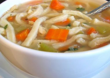 Chicken Noodle Soup With Homemade Noodles
