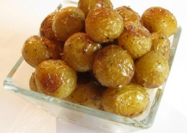 Roasted Baby Dutch Yellow Potatoes
