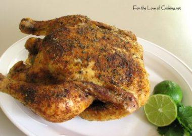 Southwestern Roasted Chicken