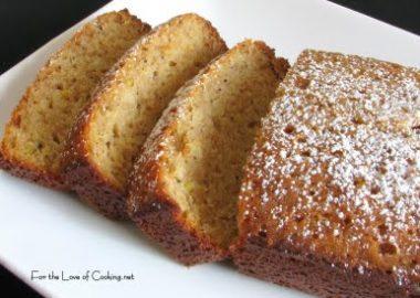 Lemon Poppy Seed Cake Bread