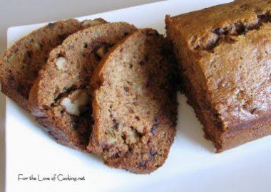 Chocolate Chip and Walnut Zucchini Bread