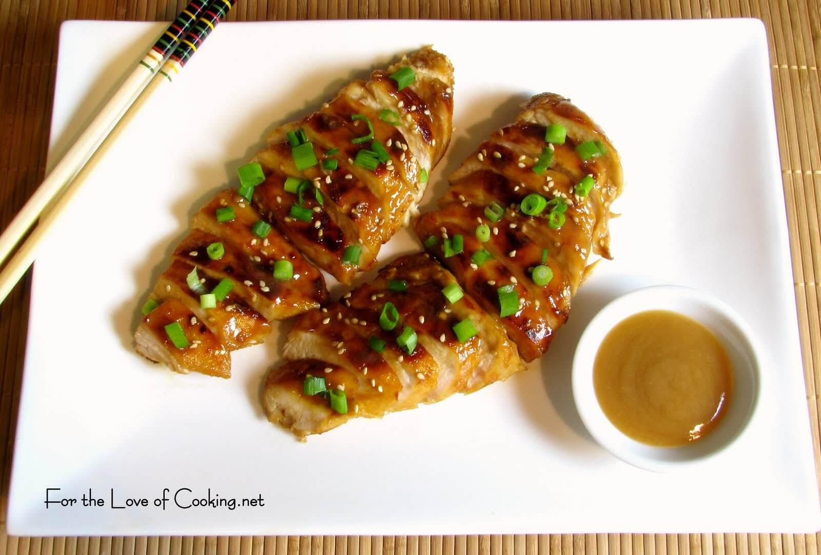 Honey-Ginger Chicken Breasts