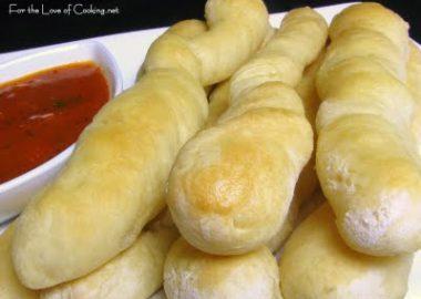 Homemade Bread Sticks