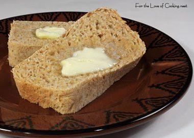 Marjie's Cool Rise Honey Lemon Wheat Bread