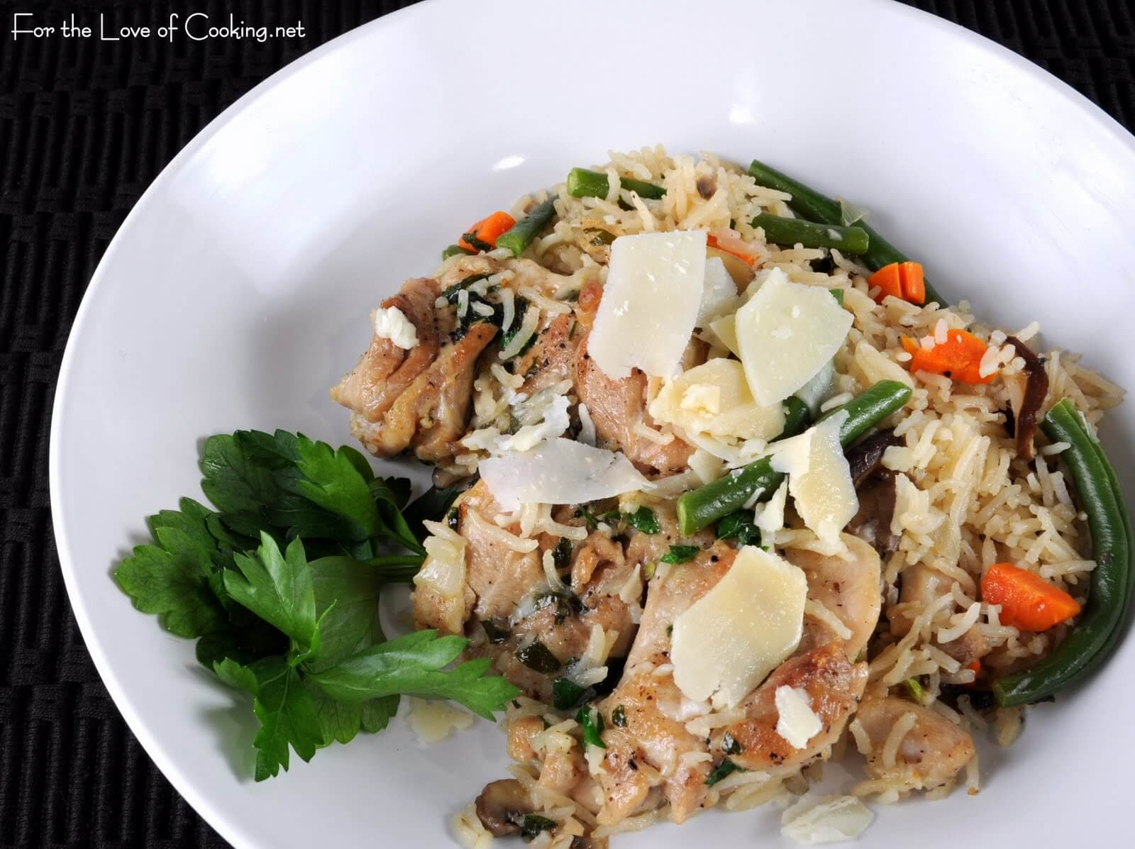 Chicken and Rice with Veggies