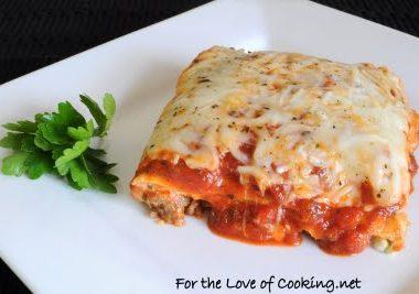 Italian Sausage and Spinach Lasagna