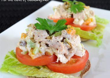 Pistachio Chicken Salad Sandwich