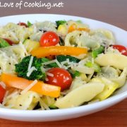 Spinach and Cheese Tortellini Primavera