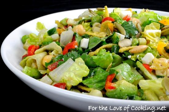 Mexican Chopped Salad with Cumin Vinaigrette