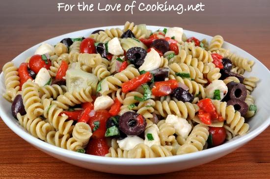 Pasta Salad Recipe Mozzarella
