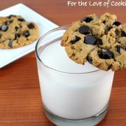 Flourless Peanut Butter and Chocolate Chip Cookies