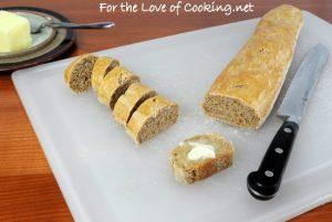 Whole Wheat Baguette