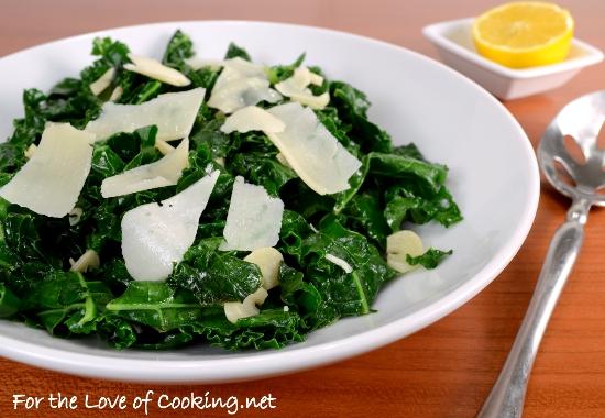 Lemon-Garlic Kale Sauté