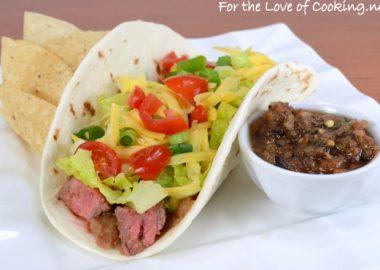 Steak Soft Tacos