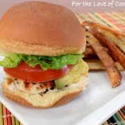 Grilled Chicken Sliders with Avocado