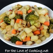 Simply Roasted Vegetables and Potatoes