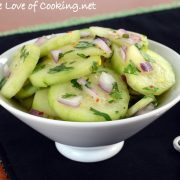 Indonesian Cucumber Salad