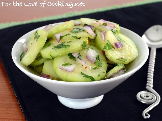 Indonesian Cucumber Salad