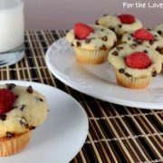 Chocolate Raspberry Mini Muffins