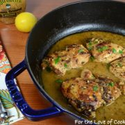 Lemon and Mustard Chicken Thighs