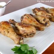 Cider-Glazed Chicken Drumsticks