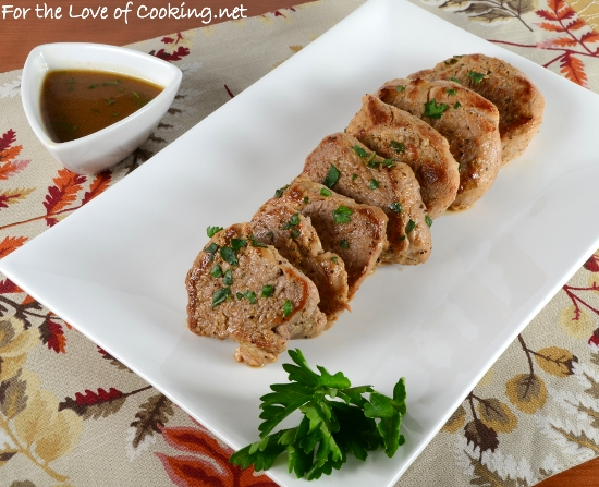 Pork Tenderloin Diane