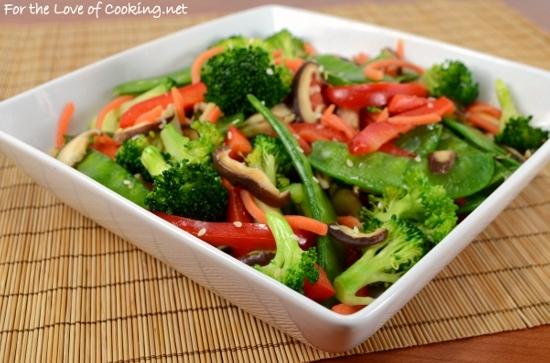 Asian Vegetable Stir Fry