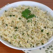 Garlic-Ginger Rice with Cilantro
