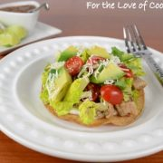 Pork Tenderloin Tostadas with Avocado