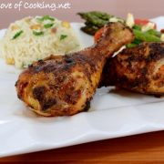 Spicy Roasted Chicken Drumsticks