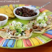 Street Tacos with Chipotle Shredded Pork