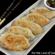 Chicken and Cilantro Pot Stickers