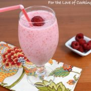 Raspberry Coconut Pom Smoothie