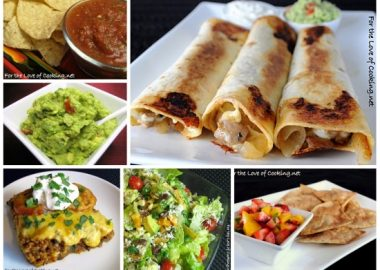 Mexican Feast – Menu Plan