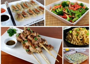 Asian Feast – Menu Plan