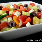 Heirloom Tomato Greek Salad