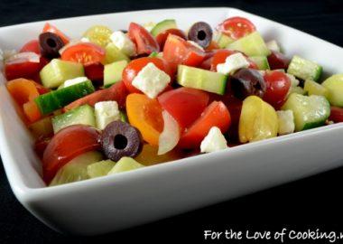 Heirloom Tomato Greek Salad