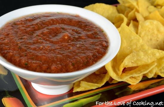 Smoky Tomato-Chipotle Salsa