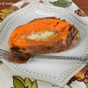 Simply Baked Sweet Potatoes