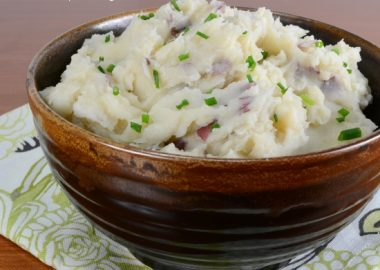 Brown-Butter Mashed Red Potatoes