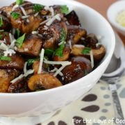 Roasted Mushrooms with Balsamic and Garlic