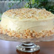 Carrot Cake with Brown Butter Cream Cheese Frosting