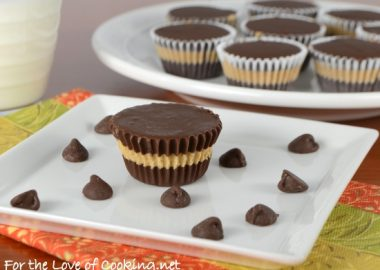Homemade Mini Chocolate-Peanut Butter Cups