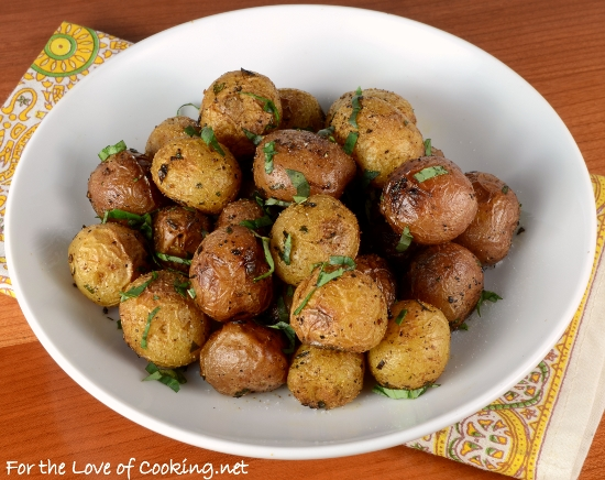 Roasted Baby Potatoes With Herbs For The Love Of Cooking