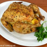 Mixed Herb Roasted Chicken