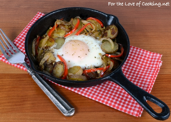 Skillet Egg and Potatoes