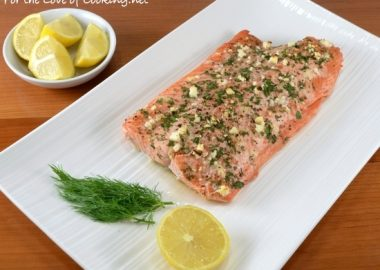 Fresh Herb and Feta Crusted Salmon