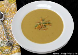 Creamy Chanterelle Mushroom Soup
