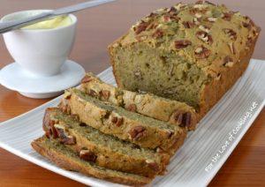 Yogurt-Zucchini Bread with Pecans